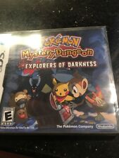 Pokemon Mystery Dungeon Explorers of Darkness Nintendo DS Brand New & Sealed