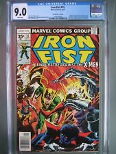Iron Fist #15 35 Cent Price Variant CGC 9.0 WP Marvel 1962 1st app Bushmaster