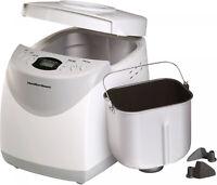 Hamilton Beach Home Automatic 2 lbs Bread Maker Machine W/ Gluten Free Setting