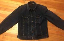 Vintage Wrangler Distressed Denim Jean Jacket Size Medium Excellent Condition!