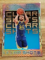 2019-20 Panini Illusions Stephen Curry Clear Shots Sapphire #9 Warriors 🔥🔥🏀