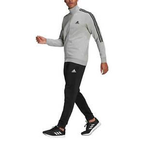 Adidas Tuta da Uomo Aeroready Essentials 3-Stripes Grigia Codice GK9975 - 9M