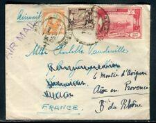Myanmar - Enveloppe de Rangoon pour la France en 1950 - F 115