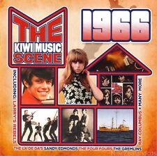 Kiwi Music Scene 1966 cd New Zealand 60s Beat - Chants R&B,La De Da's etc
