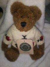"Boyds Bear Vtg Cori Beariburg 915211 9"" Plush Collectable Lady Bug Sweater Nwt"