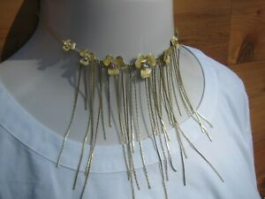 Pilgrim Danish Design Pale Yellow on Yellow Enamel Cut Bezel Crystals Necklace