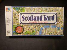 Vintage Scotland Yard Complete Board Game D1