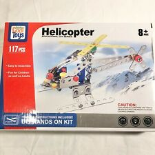 Totally Cool Toys Helicopter Kit Ages 8+ Educational Toys Series New in Box
