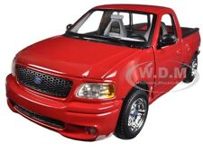 FORD SVT F-150 LIGHTNING RED PICKUP TRUCK 1:21 DIECAST MODEL CAR BY MAISTO 31141