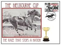 MELBOURNE CUP HORSE RACING COVER, DALRAY 1952