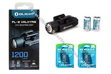 Olight PL-2 Valkyrie Cree XHP35 1200lumens Pistol Light with 2*RCR123A