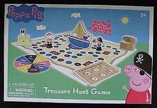 Peppa Pig Treasure Hunt Game TCG Toys EUC