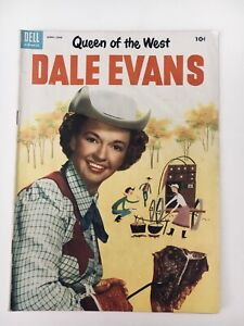 Dell 1954 DALE EVANS Comic #3 VG Queen Of The West