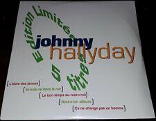 NEUF SCELLE JOHNNY HALLYDAY CD ORIGINAL PROMO HORS COMMERCE AUCHAN