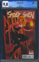 Spider Gwen 4 (Marvel) CGC 9.8 White Pages Mark Brooks NYC Variant