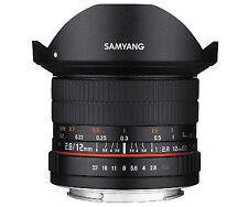 Samyang 12mm F2.8 ED AS NCS FISH-EYE Lens for Canon