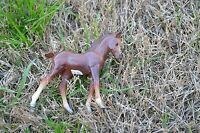 """Vintage Breyer  Small Pony Horse Brown approx 4"""" x 4.5"""""""
