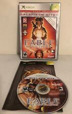 """Original XBOX Game: """"Fable The Lost Chapters Best Of Platinum Hits"""" - Complete M"""