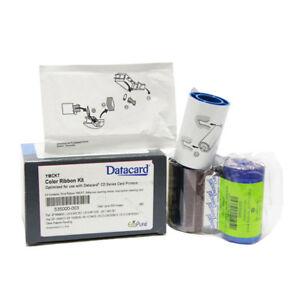 535000-003 Farbband für Datacard CP CD Series Drucker YMCK 500-Prints Original