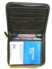 A5 (standard Organizzatore) Cerniera Conferenza Raccoglitore ad anelli 9980 20mm Nero