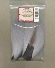 Bucktail Pieces - pearl gray     BTP125