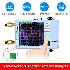 Nanovna 50khz 900mhz Network Antenna Analyzer Uhf Hf Uv Vna Vhf With Rf Demo Kit