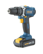 Workzone 14.4V Li-ion Cordless Combi Drill & Battery - New