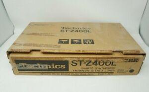 Technics ST-Z400L FM/AM/LW Tuner Tested Working With Original Box