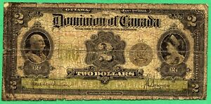 *** SEAL ONLY *** 1914 Dominion of Canada 2 dollar two dollars