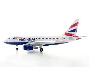 Herpa 1:400 562560 British Airways A318 Reg# G-EUNA Rare!