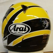 Arai Astral Kenny Roberts Jr Yellow Eagle racer replica motorcycle helmet Med Lg