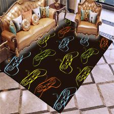 Gamepad Fluffy Rug Living Room Bedroom Anti-Skid Area Rug Floor Mat Gamer Carpet