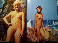 Nudisten FKK Fotobuch 100 Seiten Najaden der Sonne Gerd Berendt 1989 Jahr
