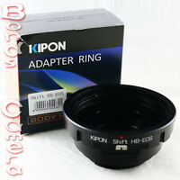 Kipon Shift Hasselblad V CF lens to Canon EOS EF mount adapter 5D II III 6D 70D