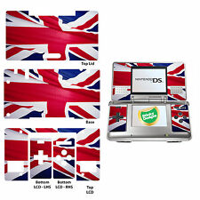 Gran Bretaña (Union Jack) carcasa de vinilo adhesivo para Nintendo Ds original