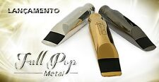 Ever-Ton Full Pop #7 Metal Silver Plated SOPRANO Sax Mouthpiece Made in Brazil