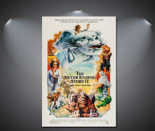 The Never Ending Story II Vintage Movie Poster - A1, A2, A3, A4 Sizes Available