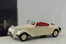 Citroen Traction Avant 11 B Cabriolet Cream 1:18 Norev 181440 NEU