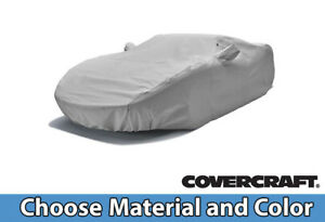 Custom Covercraft Car Covers for Chevrolet Convertible -- Choose Your Material a