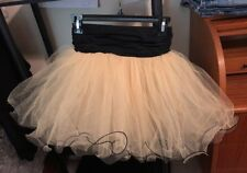Girls TUTU Skirt Size Large 12 14 16 Yellow Tule Dance Halloween Bee Costume