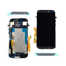 Nuovo nero per HTC One M8 completo LCD display touch schermo cornice piastra