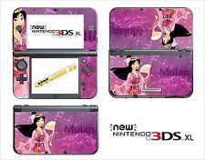 SKIN DECAL STICKER - NINTENDO NEW 3DS XL - REF 94 MULAN