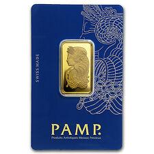 20 gram Gold Bar - PAMP Suisse Fortuna Veriscan in Assay - SKU #49374