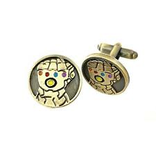 Thanos Glove Fashion Novelty Cuff Links Movie Comic Series with Gift Box