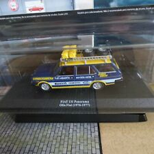 FOURGON VÉHICULES D'ASSISTANCE RALLYE ALTAYA 1/43  N°22 FIAT 131 PANORAMA