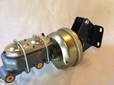 "Jeep CJ7 CJ5 7"" power brake booster & master cylinder w/ mounting brackets"