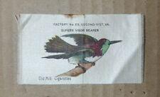 Vintage Old Mill Cigarettes Superb Visor Bearer Tobacco Silk