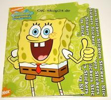 Spongebob Schwammkopf für Kinder Sticker Heft ca. 85 Stk Aufkleber Stickers NEU