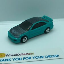 Civic Coupe * Hot Wheels Garage Real Riders LOOSE * F726