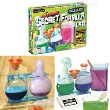 Extreme Secret Formula Lab Educational Fun Kids Children Science Kit Gift Game